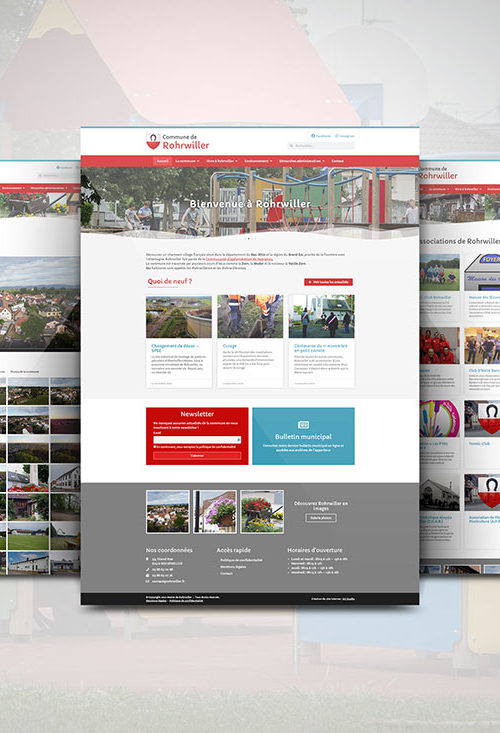 site internet mairie rohrwiller wordpress